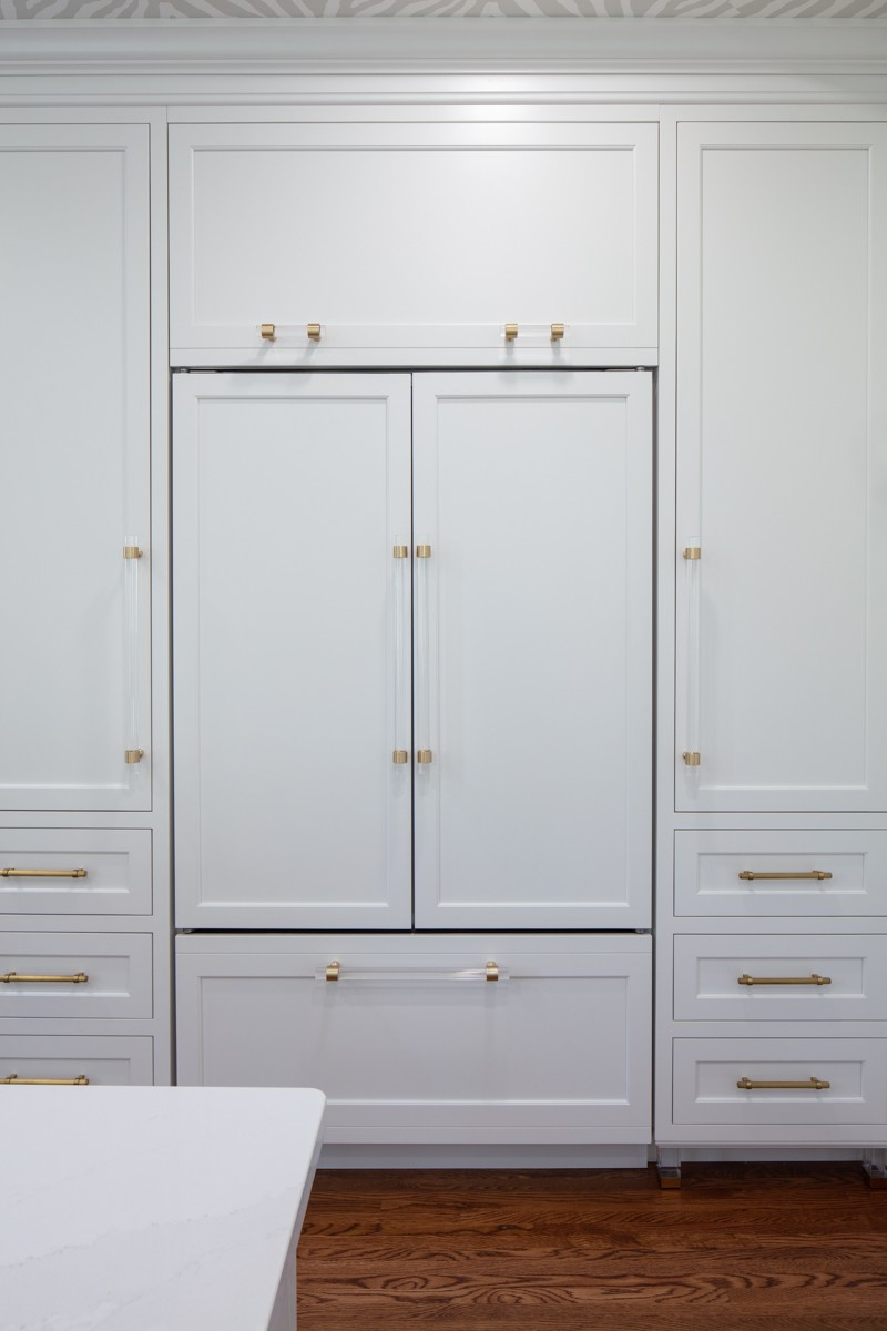 Large Over-Refrigerator Panel for Grill Cover